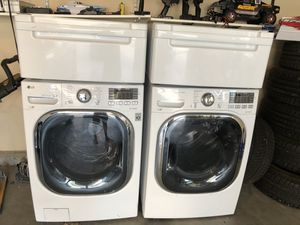 LG washer and dryer large capacity for Sale in Meridian, ID
