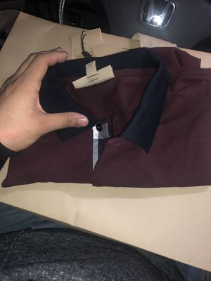 Burberry polos brand new for Sale in Chicago, IL