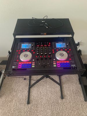 Dj Numark NV and Pro X case for Sale in Spring, TX