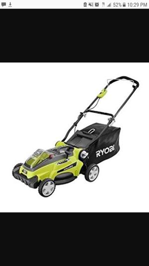 40 volt 16 inch Ryobi lawn mower for Sale in Sandy, UT
