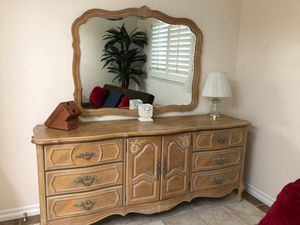 Stanley dresser with mirror and nite stand!!! for Sale in Ontario, CA