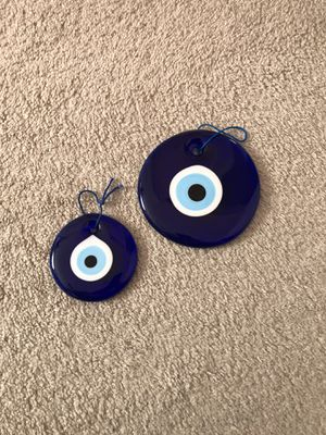 Blue bead worn against the evil eye for Sale in Columbia, MD