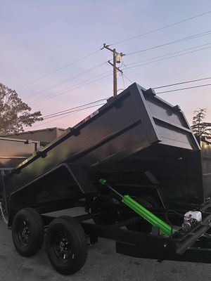 5x10x2 DUMP TRAILER for Sale in La Mesa, CA