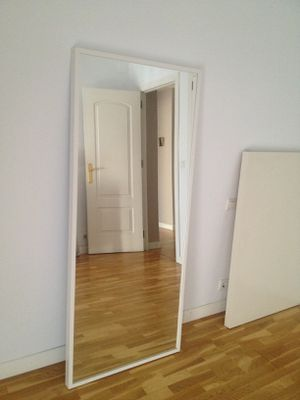 70×160 white Mirror for Sale in Silver Spring, MD