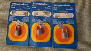 (3) Slaymaker Mini Locks for Sale in Chandler, AZ