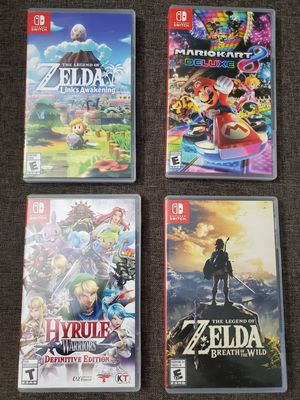 Nintendo switch games for Sale in ROXBURY CROSSING, MA