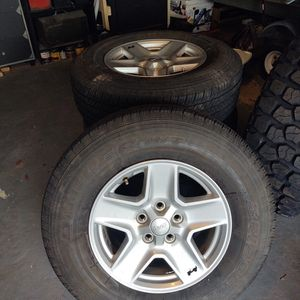 "Jeep Wheels & Tires 32"" for Sale in Sterling, VA"