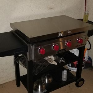 Stainless cover for Camp Chef FTG600-griddle not included for Sale in Quincy, IL