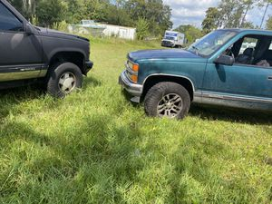Selling two trucks both run and drive 4x4 for Sale in Palm Coast, FL