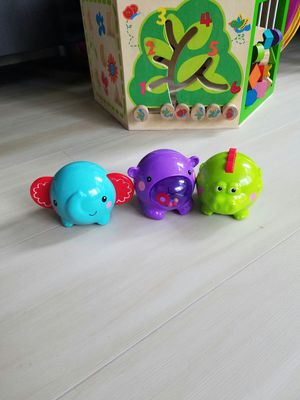 Baby toys rattle, animals, elephant, hippo, alligator for Sale in Seattle, WA