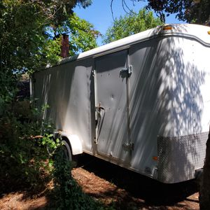 7' x 16' Haulmark tandem enclosed cargo trailer for Sale in Portland, OR