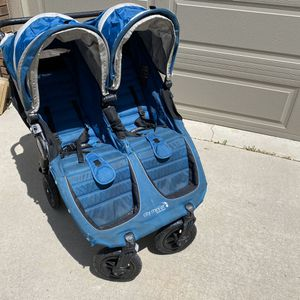 Baby Jogger City Mini GT Double Stroller for Sale in Sandy, UT