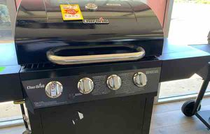 Brand New Char-Broil Black BBQ Grill w/warranty! 8H for Sale in Cerritos, CA