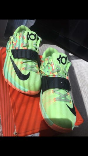 6Y Nike KD 7 Easter Shoes for Sale in Houston, TX