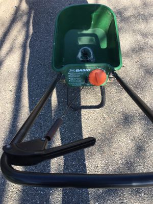 Lawn Detacher $100, spreader $10, chainsaw $45, yard sprinklers $30 each one , Leaf blower $60, for Sale in Rehoboth, MA