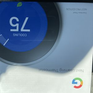 Nest Thermostat Pro Edition for Sale in Fort Lauderdale, FL
