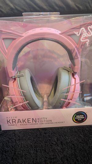 Razer Kraken Kitty Edition for Sale in Buffalo, NY
