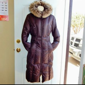 BERNARDO Down Parka Raccoon Fur Trim Hood RN94868 for Sale in Snowflake, AZ