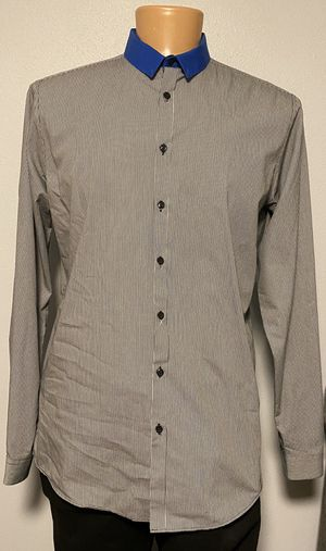 Bar lll Slim Fit Long Sleeve Button Up Shirt Large for Sale in Tacoma, WA