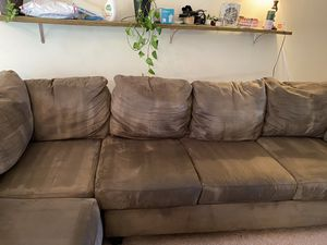 Large Sectional Sofa with Chaise Lounge for Sale in Toms River, NJ