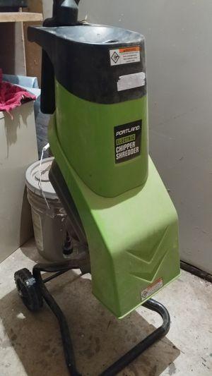 Electric chipper shredder for Sale in Gresham, OR