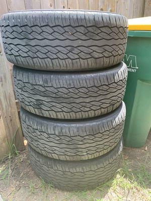 20'MB wheels and falken tires for Sale in Cedar Park, TX
