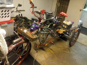 Custom built adult rat rod tricycle for Sale in Riverside, CA