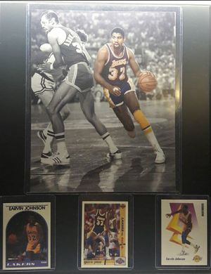 Lakers magic Johnson plaque for Sale in Bell Gardens, CA
