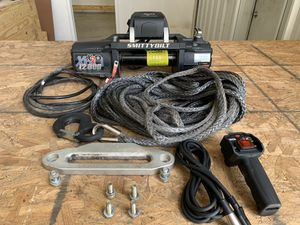 Smittybilt Gen2X20 12000lb winch w/synthetic cable & wireless control for Sale in Houston, TX