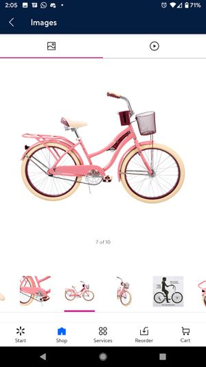 Nel Lusso™ Women's Cruiser Bike, Pink, 24-inch for Sale in Woodbridge, VA