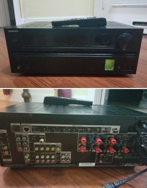 Onkyo hdmi 9.1ch hdmi stereo receiver amplifier Bluetooth optional for Sale in Long Beach, CA