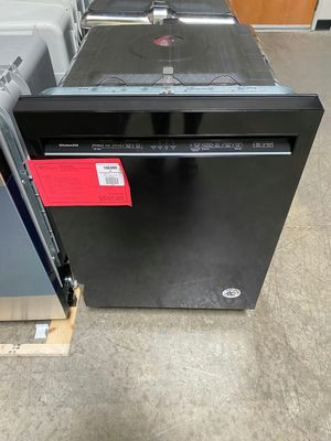 New KitchenAid 46 dBA Dishwasher in Black 1 Year Manufacturer Warranty Included for Sale in Gilbert, AZ