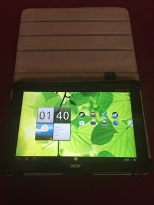 """ACER Iconia tablet 10"""". 32 gb Wi-Fi for Sale in Glendale, AZ"""