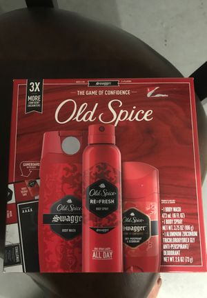 Old spice Christmas gift set for Sale in Lakewood, CA