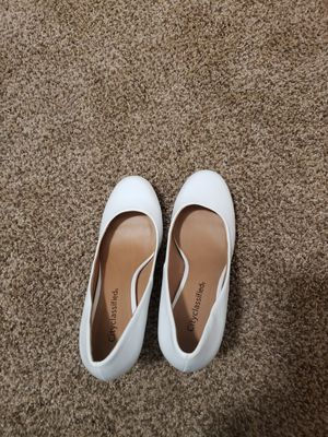 New white heels 7.5 for Sale in Seattle, WA