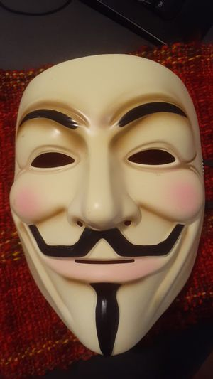 Halloween V for Vendetta mask for Sale in Chicago, IL