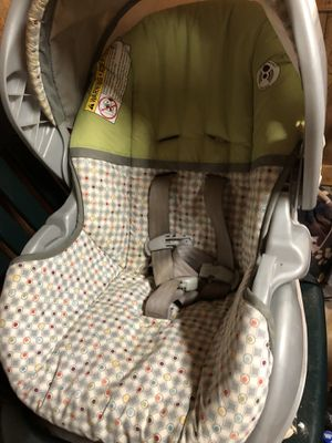 Car seat and block for Sale in Starkville, MS