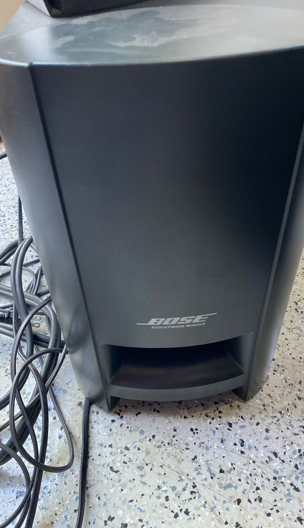 Bose 3-2-1 Series 1. Sub/speakers great. Receiver open. DVD/CD not working