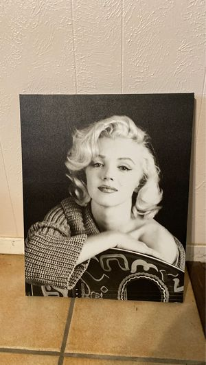 Marilyn Monroe picture for Sale in Grand Prairie, TX