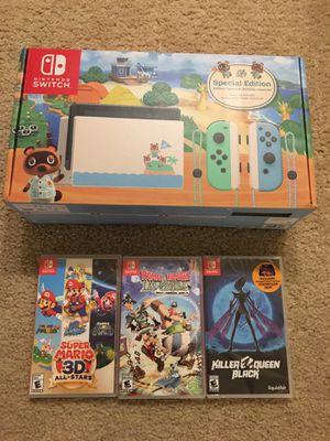Brand New Nintendo Switch bundle for Sale in Seattle, WA