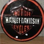 Metal Handmade Harley Sign for Sale in Sebastian, FL