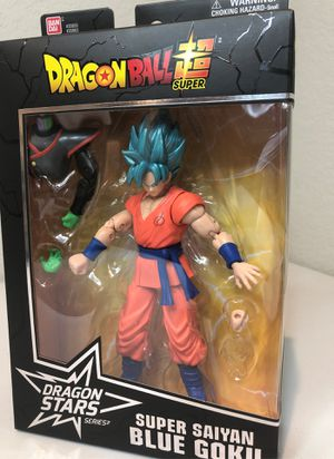Dragonball Z Ban Dai Action Figure Super Saiyan Blue Goku for Sale in Leander, TX