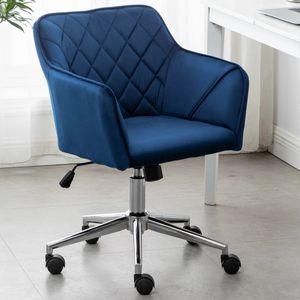 Blue Velvet Task Chair for Sale in La Habra, CA