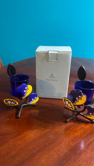 PartyLite Candle Holders for Sale in Romeoville, IL