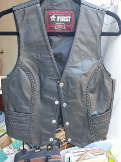 Leather Motorcycle Vest for Sale in Tacoma,  WA