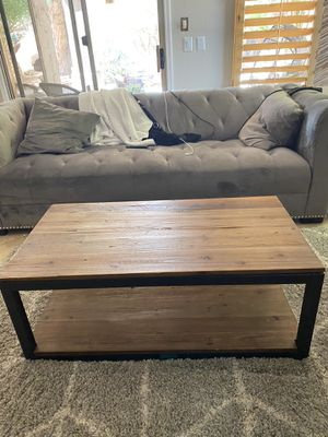Farmhouse industrial coffee table for Sale in Chandler, AZ