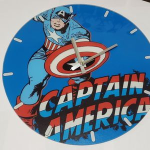 Vintage Style Captain America Wall Clock for Sale in Los Angeles, CA