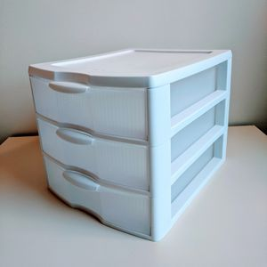 Useful 3-Drawer Organizer Storage, White | Sterilite for Sale in Bellingham, WA