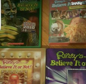 Ripley's believe it or not books for Sale in Odenton, MD