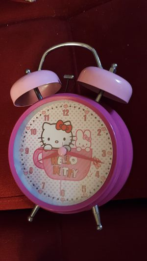 Hello Kitty alarm clock for Sale in Beaver Falls, PA